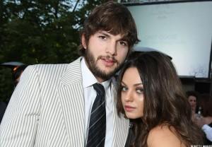 Mila Kunis et Ashton Kutcher ensembles