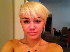 Miley Cyrus sans maquillage