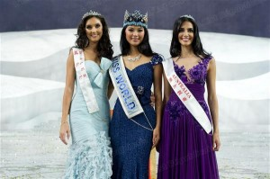 Miss Monde 2012 est Miss Chine