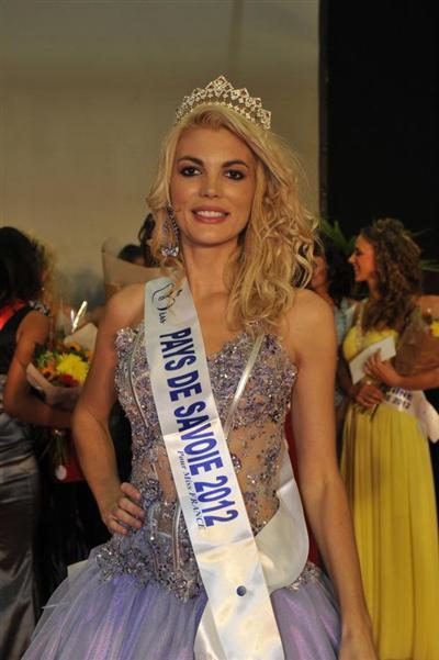 Miss Pays de Savoie 2012, concours Miss France 2013