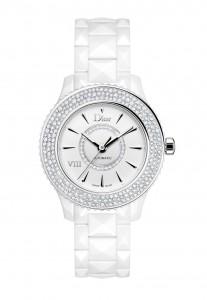 montre dior VIII blanche