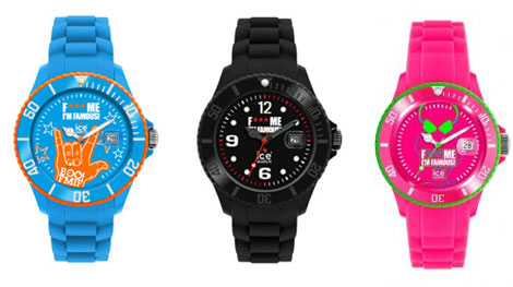 Montres Ice-Watch de Cathy Guetta