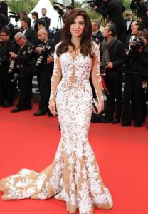 Najwa Karam visage L' Oréal