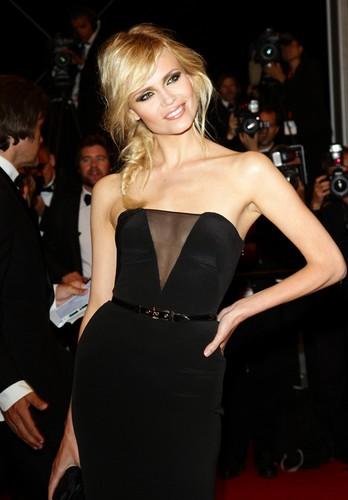Natasha Poly à Cannes