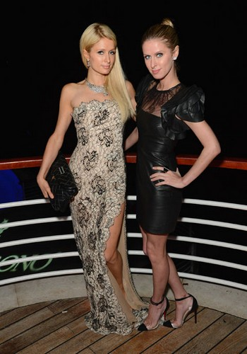Nicky et Paris Hilton à Cannes
