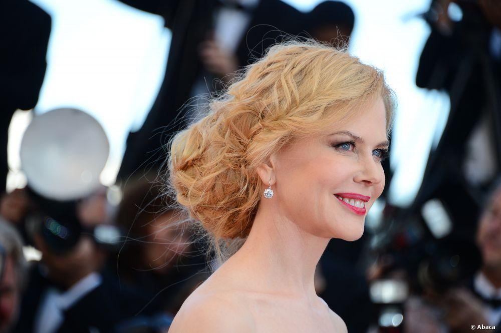 Chignon bohème de Nicole Kidman à la soirée de clôture du Festival de Cannes
