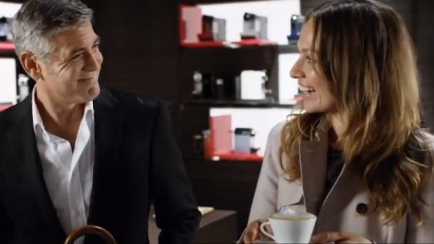 nouvelle pub Nespresso avec George Clooney