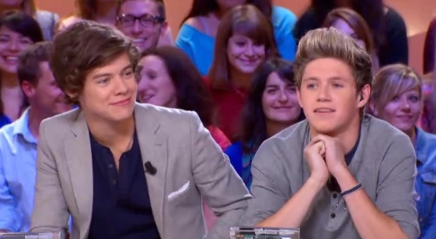 One Direction au Grand Journal Canal Plus
