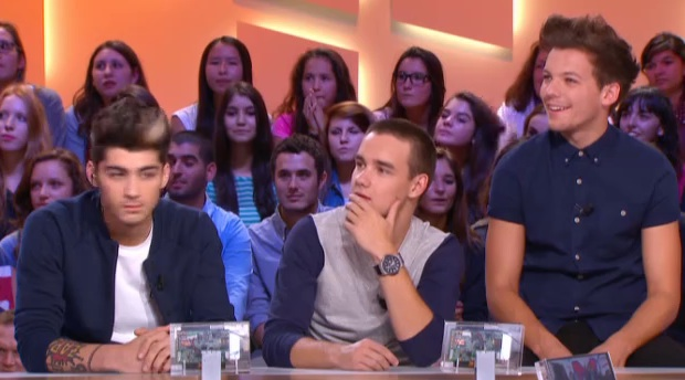 One Direction au Grand Journal