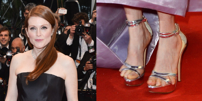 pieds Julianne Moore Cannes