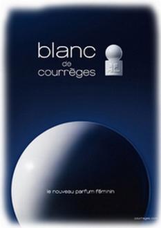 Pub Parfum Blanc de Courrèges