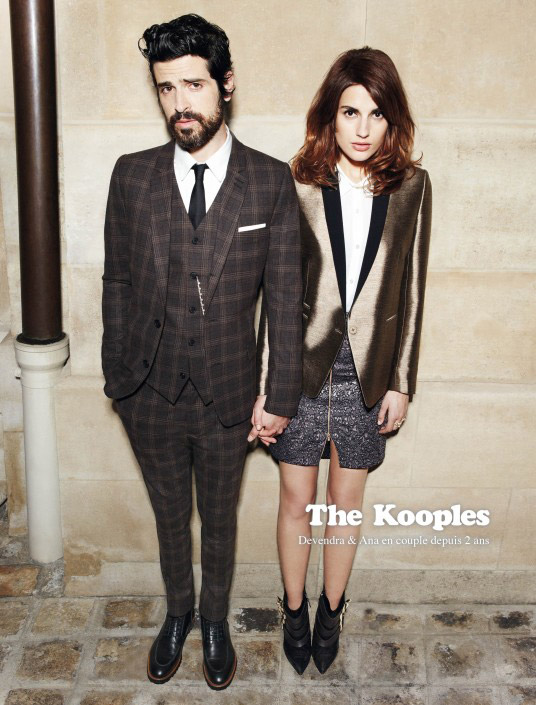 Pub couple The Kooples 2012