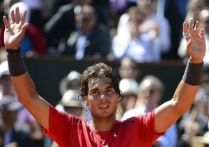 Rafael Nadal vainqueur Roland Garros 2012