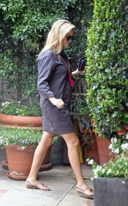 Look de Reese Witherspoon enceinte