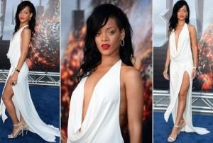 Rihanna pour la premiere de Battleship