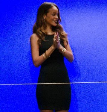 Défilé de Rihanna pour River Island