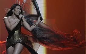 robe anggun eurovision