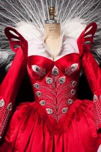 robe dans Blanche Neige