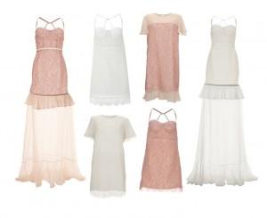 robe de mariée topshop