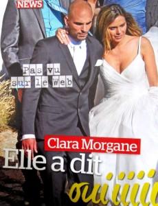 Robe de mariée de Clara Morgane