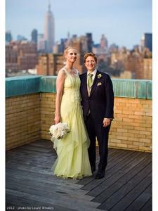 Robe de mari e de cynthia nixon for Combien sont les robes de mariage de caroline herrera