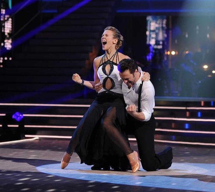 Robe Lorie danse avec les stars 3