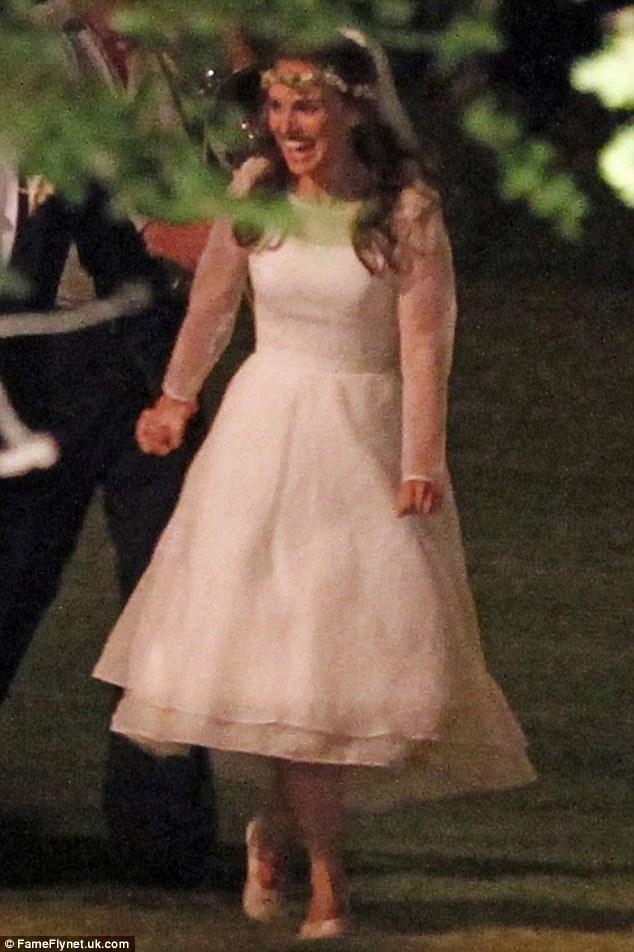 Robe de mariée de Nathalie Portman