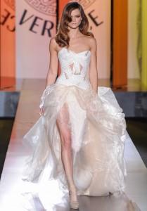 robe de mariée hiver Atelier Versace
