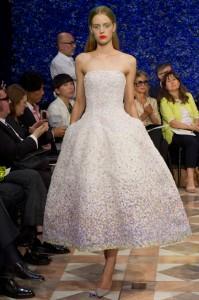 Robe de mariée hiver Dior