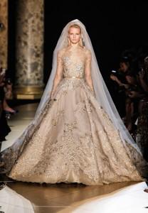 robe de mariée hiver Elie Saab