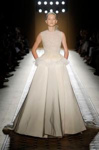Robe de mariée hiver Christian Josse