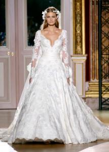 Robe de mariée hiver Zuhair Murad