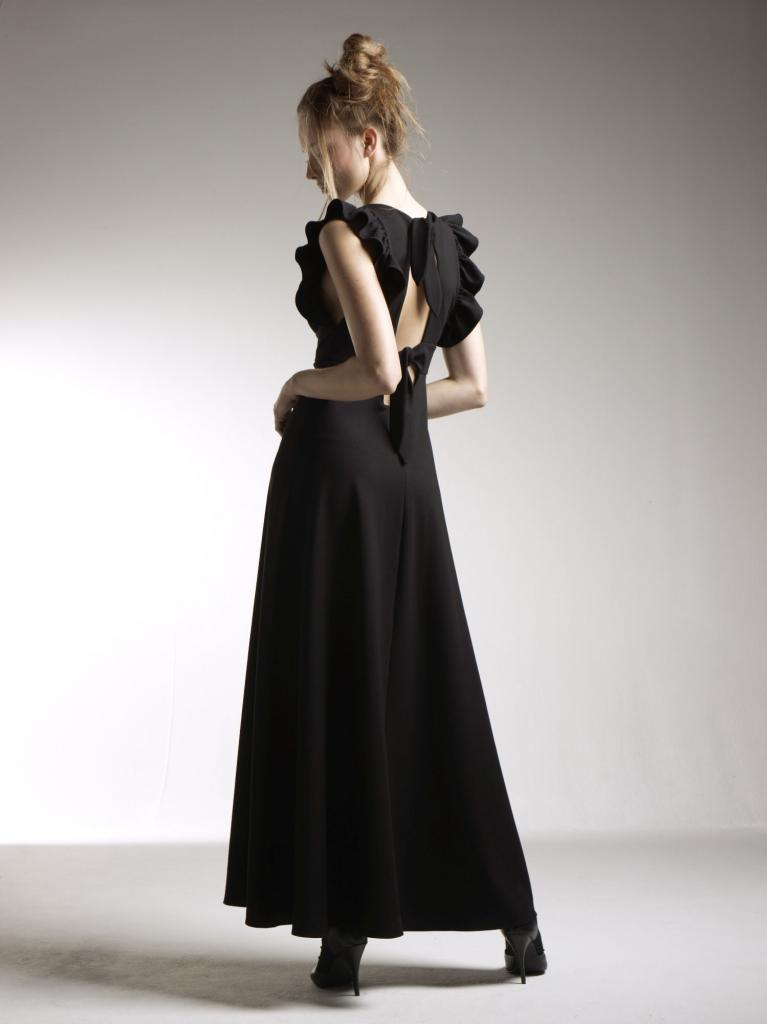Robe noire Delphine Manivet pour La Redoute