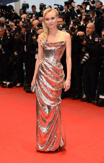 Robe or de Diane Kruger