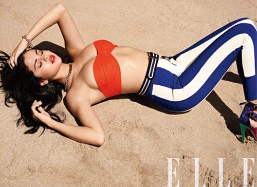 Selena Gomez pour Elle US juillet 2012