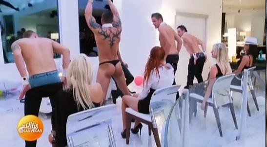 Strip tease des Ch'tis à Las Vegas