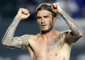 tatouages David Beckham