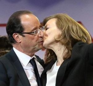 Valérie Trierweiler et François Hollande