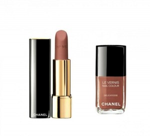 Vernis et rouge Twin Set de Chanel