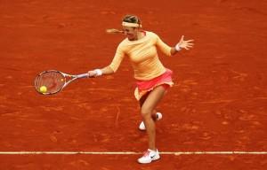 Victoria Azarenka à Roland Garros