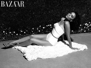 Victoria Beckham pour Harper Bazaar
