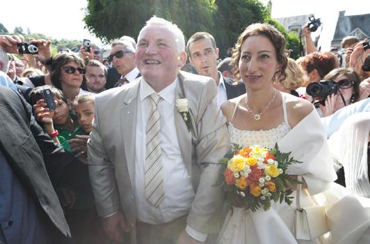 Voyage de noces de Thierry et Annie L'Amour est dans le pré