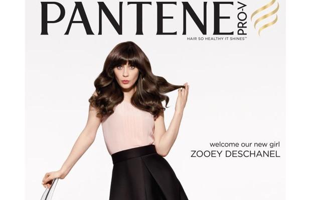 Zooey Deschanel pour Pantène Pro-V